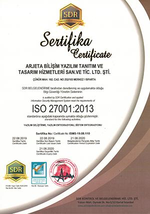 Xlog ISO 27001 Belgesi