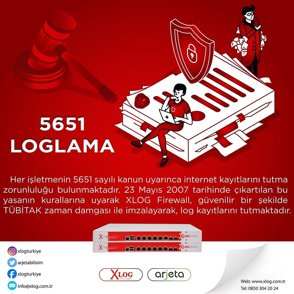 Xlog 5651 Loglama