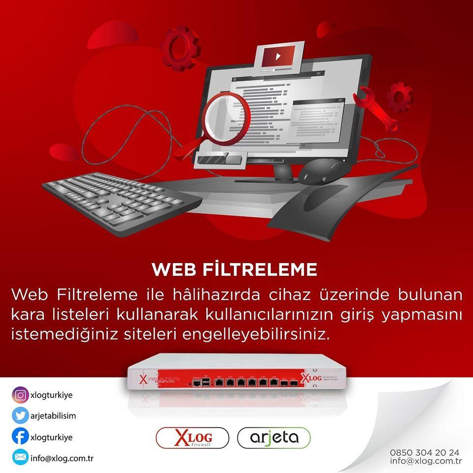 Xlog Web Filtreleme